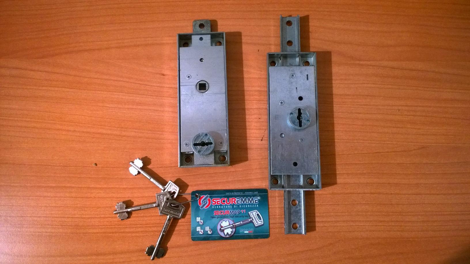 Trasformazioni serrature sostituzione serratura milano for Serratura defender